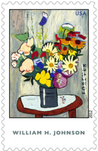 william H. Johnson stamp