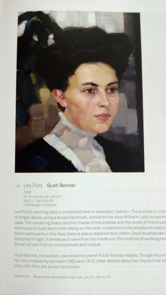 Oil Painting byLeo Putz of Gusti Bennat
