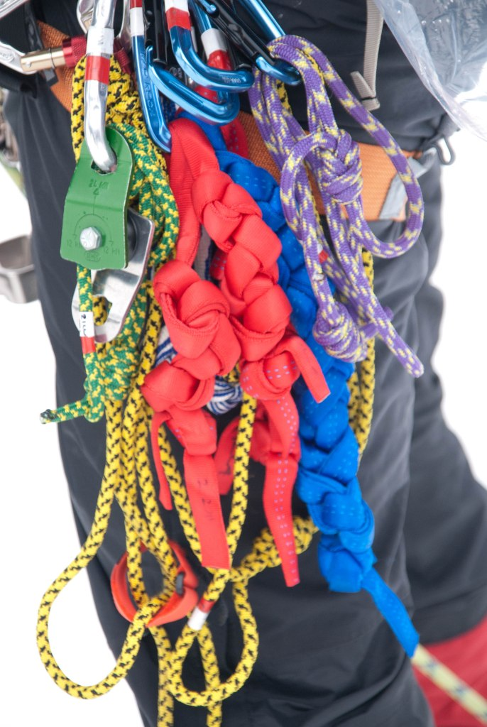 Climbing Harness, Webbing and Prusiks