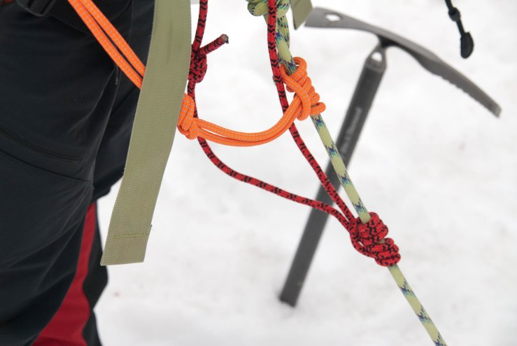 Ice Axe and Prusiks