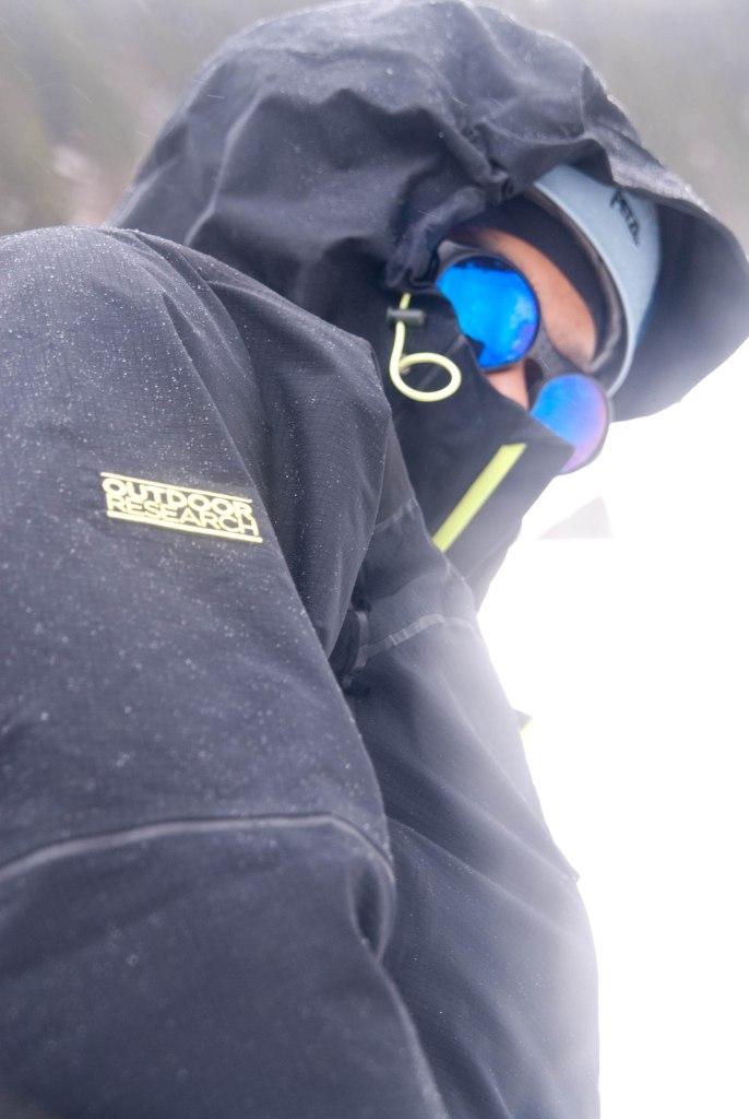 Zilla in Glacier Goggles