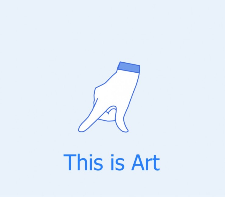 Social Network Art Icon